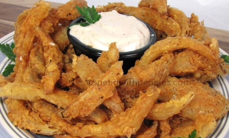 Blooming Onion Sauce  Blooming ion Bites & Dipping Sauce
