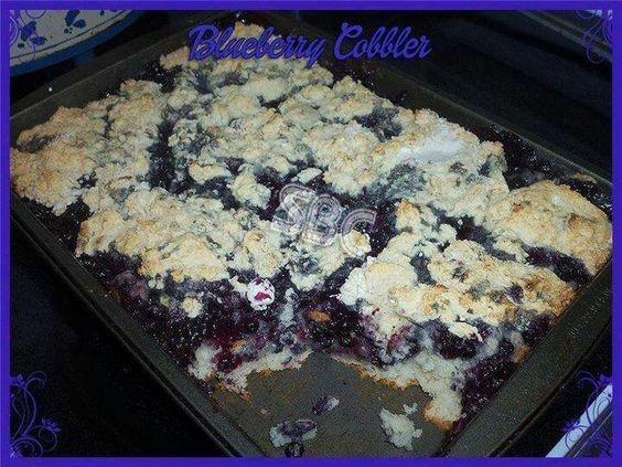 Blueberry Cobbler Bisquick  Blueberry Cobbler Make a bottom crust with 2 1 3 cups of