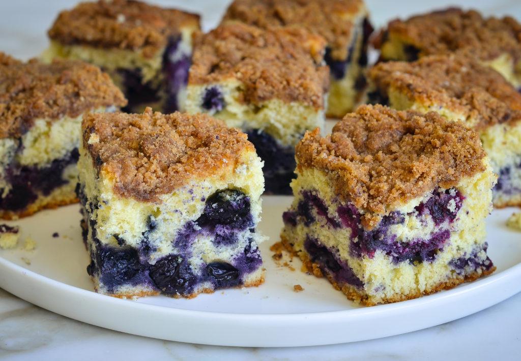 Blueberry Coffee Cake  Blueberry Coffee Cake aka Boy Bait ce Upon a Chef