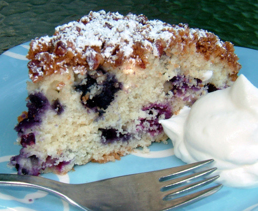 Blueberry Coffee Cake  Tons Blueberry Coffee Cake Recipe Food