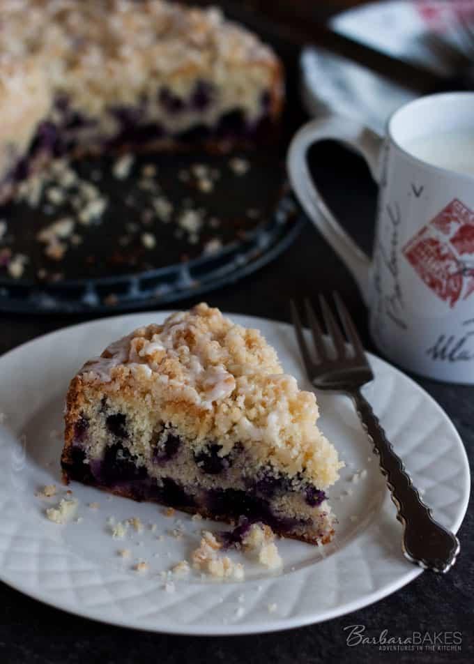 Blueberry Coffee Cake  Lemon Blueberry Coffee Cake Recipe