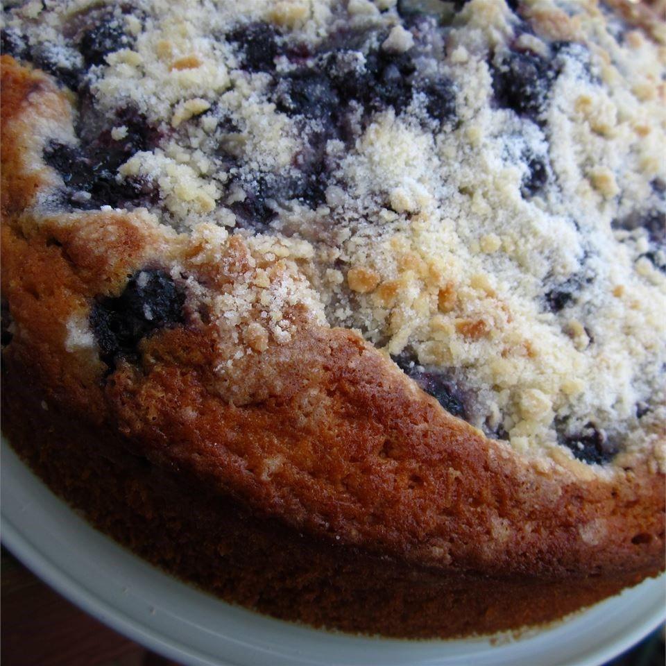 Blueberry Desserts Easy  Easy Blueberry Cake recipe All recipes UK