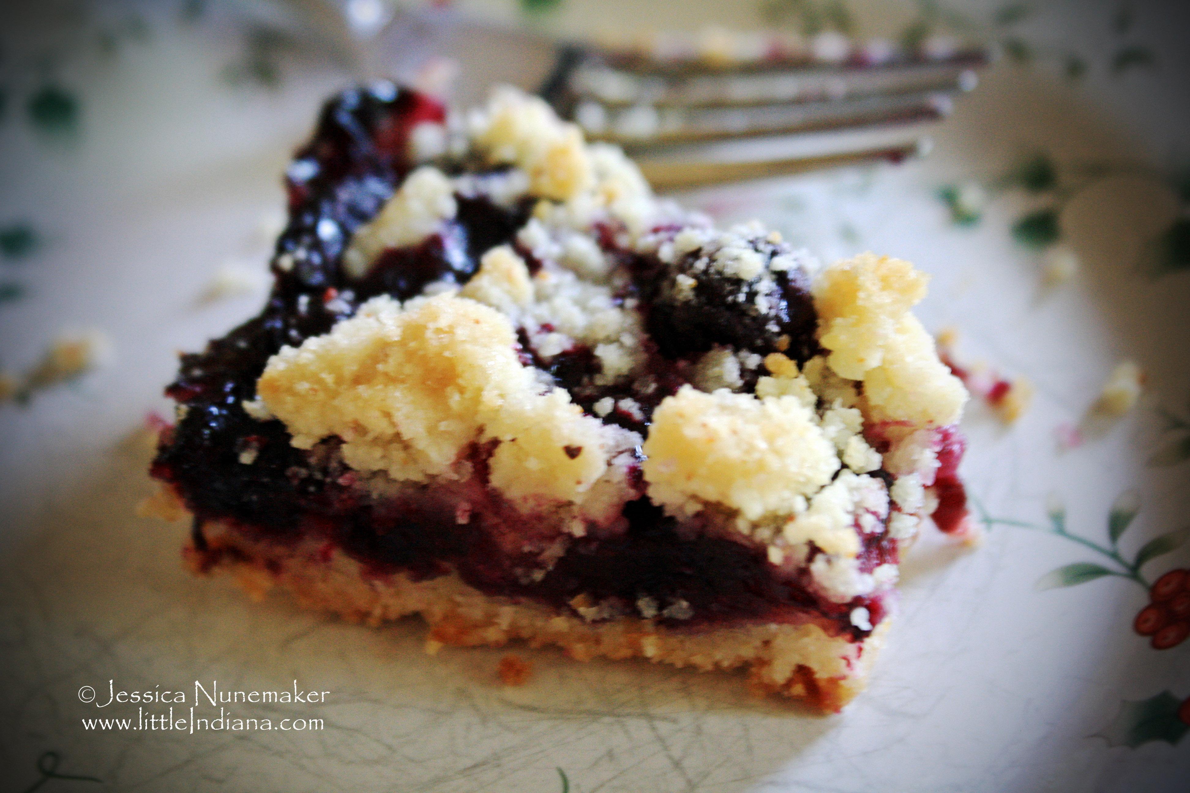 Blueberry Desserts Easy  blueberry dessert