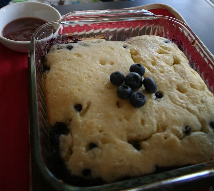 Blueberry Desserts Easy  easy blueberry cobbler dessert Recipes