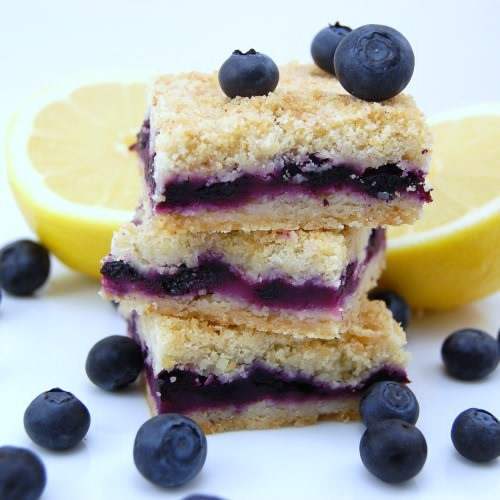 Blueberry Desserts Easy  Blueberry Squares