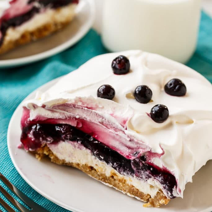 Blueberry Desserts Easy  Southern Blueberry Delight