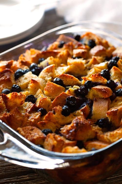 Blueberry French Toast Casserole  Overnight Blueberry French Toast Casserole recipe