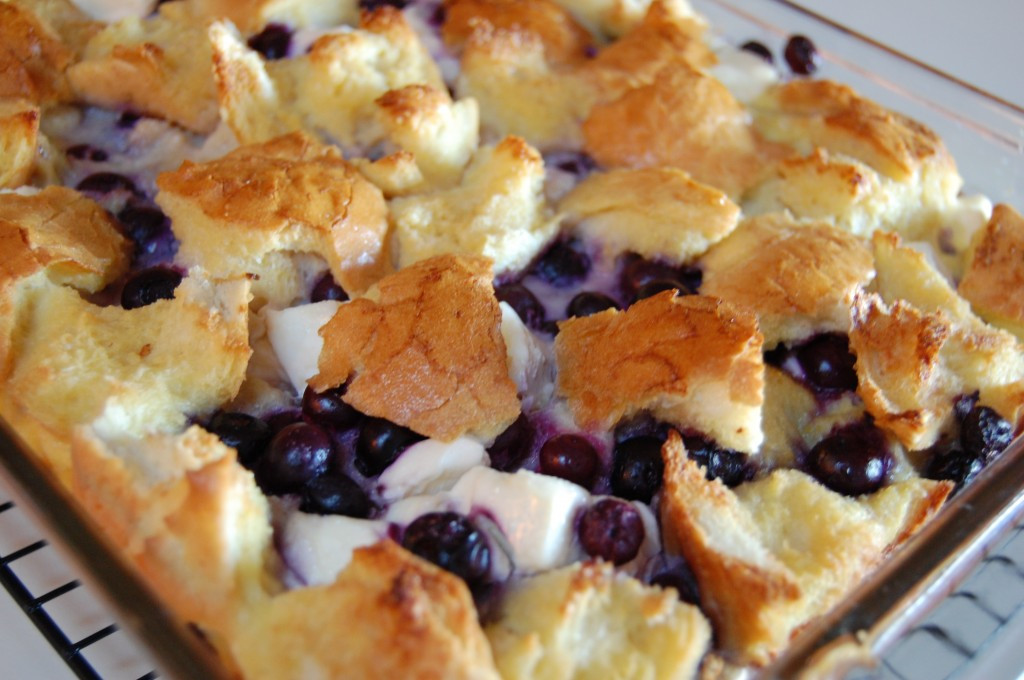 Blueberry French Toast Casserole  Blueberry French Toast Casserole