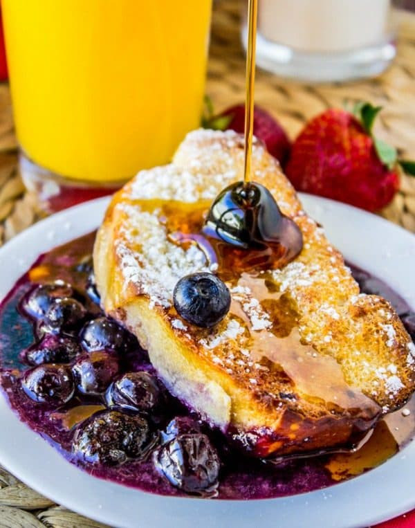 Blueberry French Toast Casserole  25 Breakfast Treats Chocolate Chocolate and More