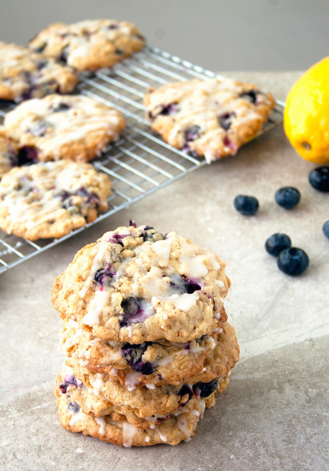 Blueberry Oatmeal Cookies  40 Recipes For Getting Fruit Into Your Face