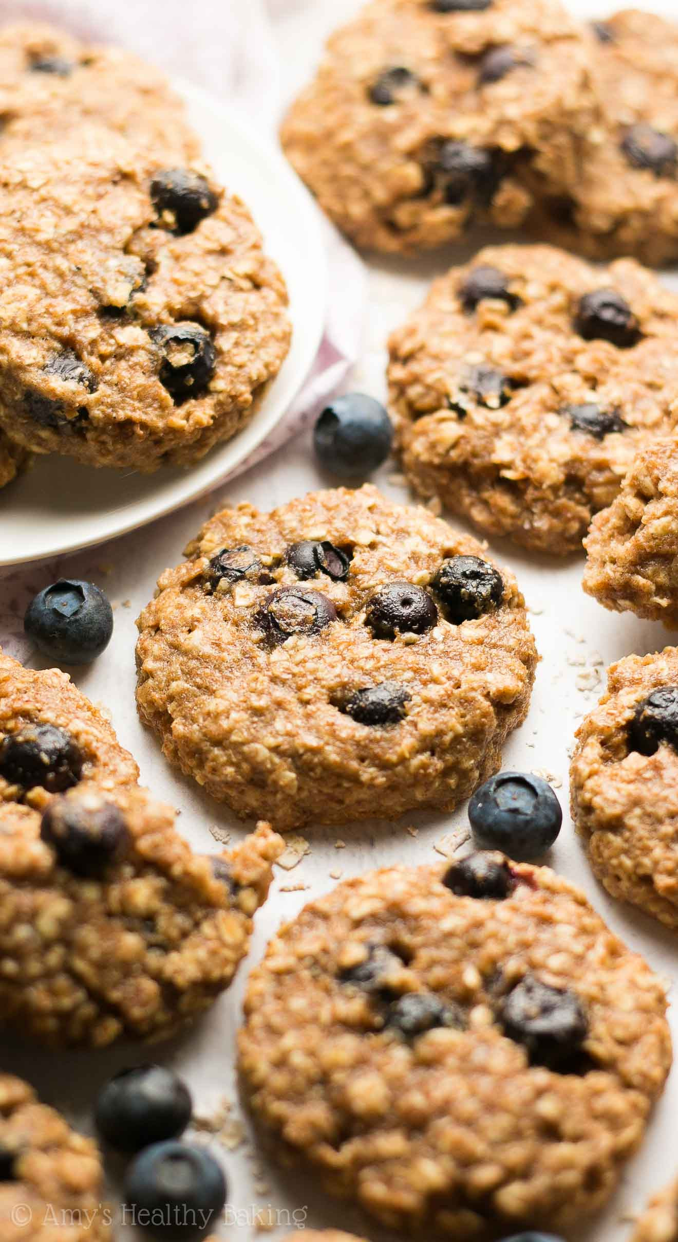 Blueberry Oatmeal Cookies  blueberry oatmeal cookies without flour