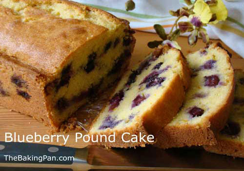 Blueberry Pound Cake  Blueberry Pound Cake Recipe