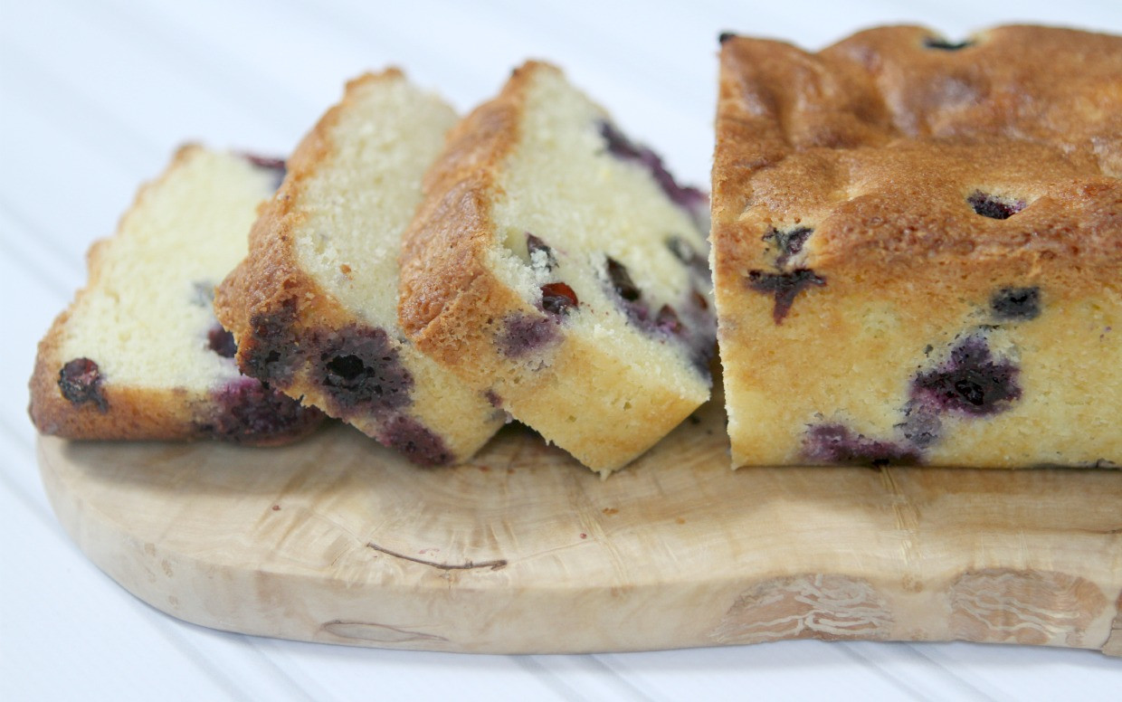Blueberry Pound Cake  Lemon Blueberry Pound Cake