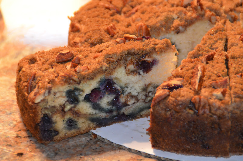 Blueberry Sour Cream Coffee Cake  Can I that recipe Blueberry Sour Cream Coffee Cake