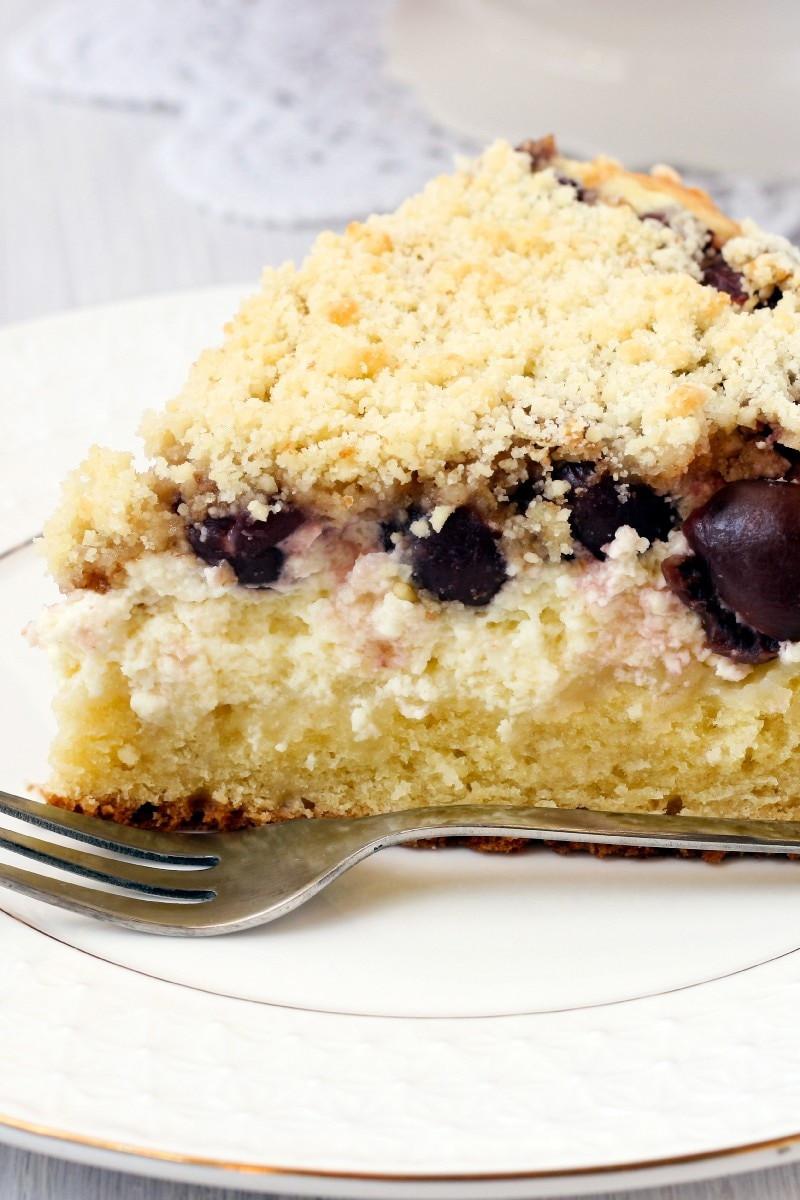 Blueberry Sour Cream Coffee Cake  Blueberry Sour Cream Coffee Cake