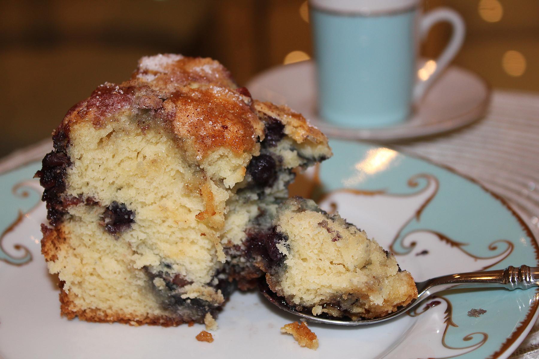 Blueberry Sour Cream Coffee Cake  Sour Cream Blueberry Coffee Cake