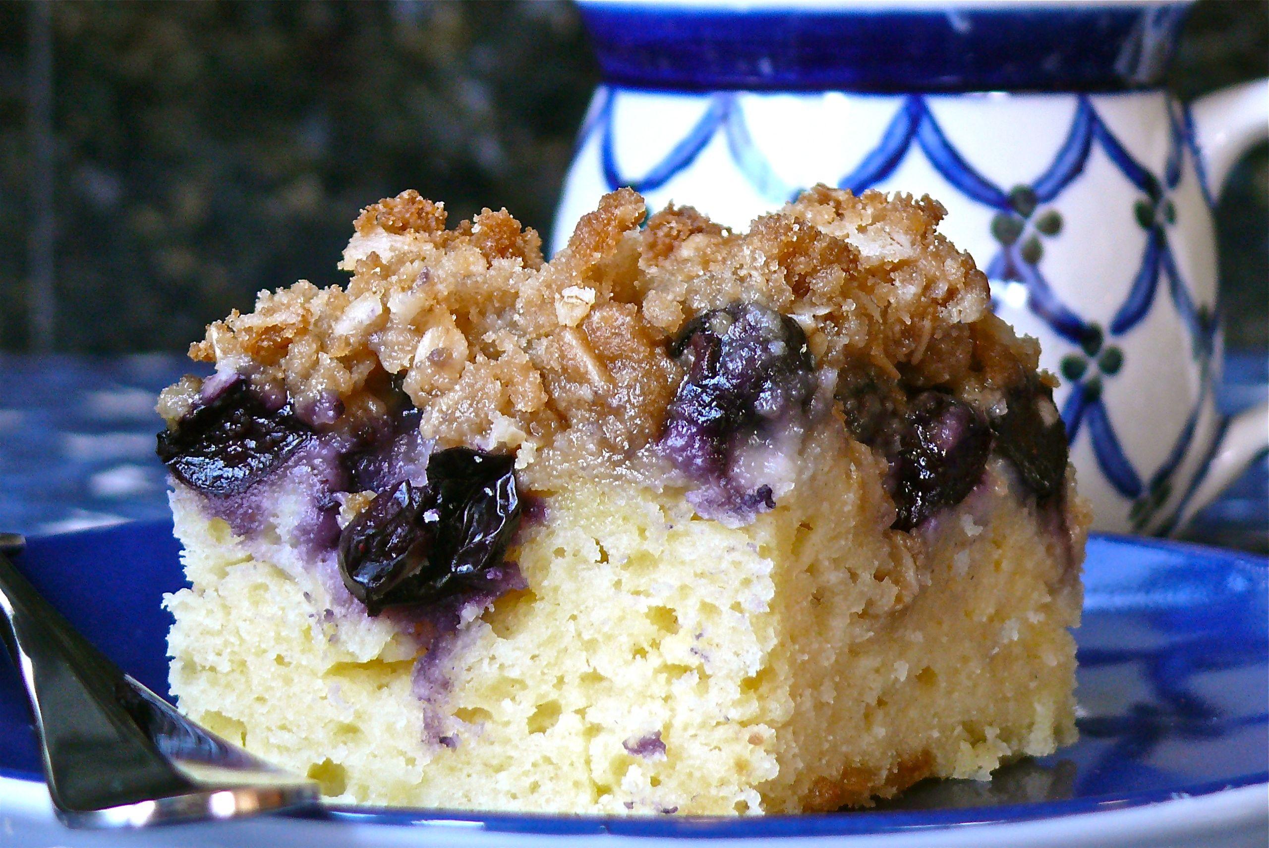 Blueberry Sour Cream Coffee Cake  Sour Cream Coffee Cake