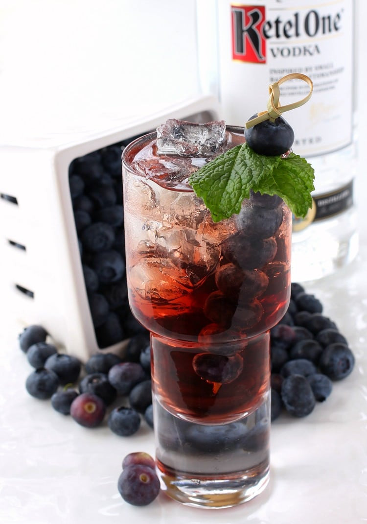 Blueberry Vodka Drinks  Blueberry Vodka Cooler Mantitlement