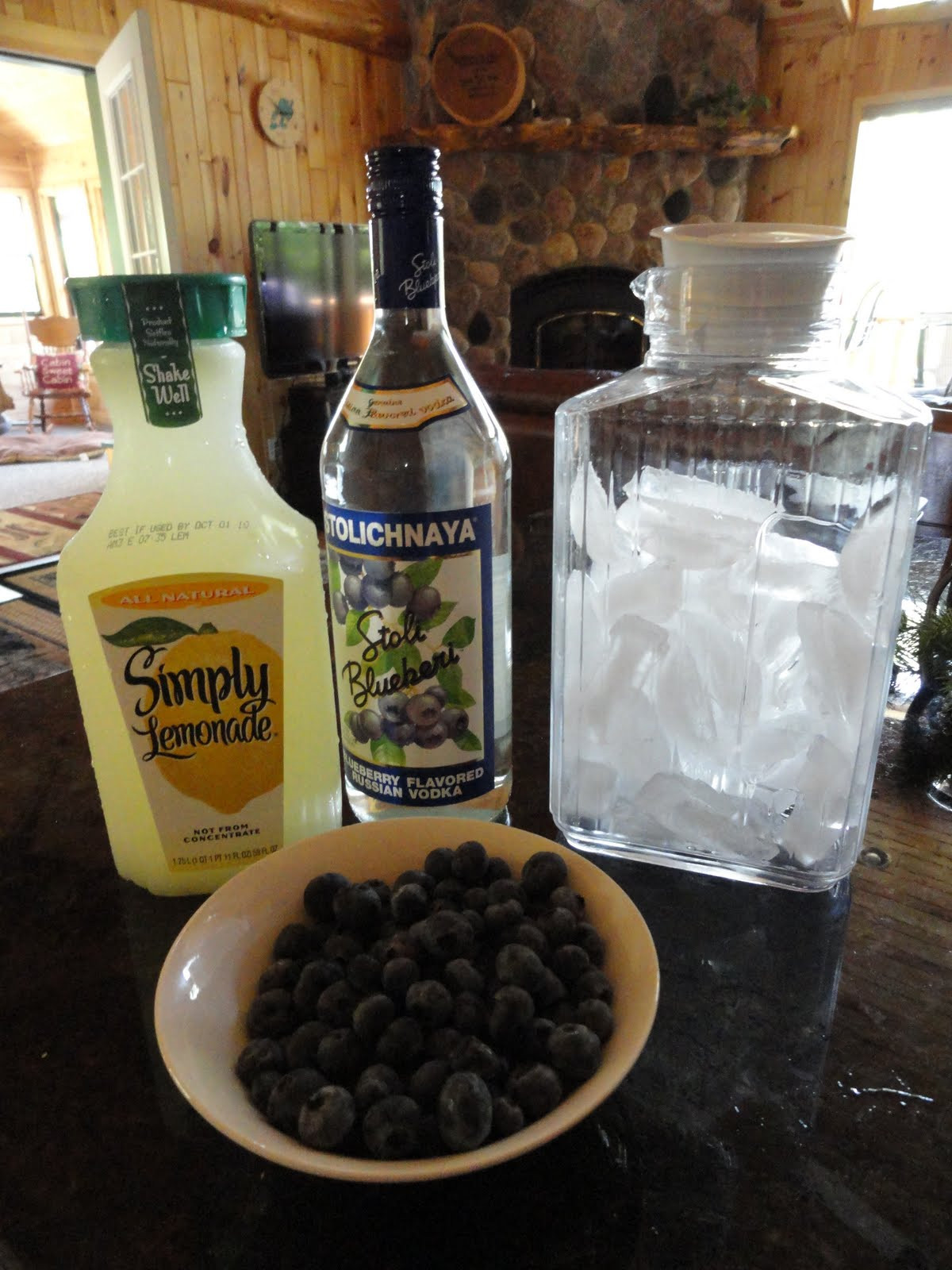 Blueberry Vodka Drinks  My Kitchen My Sanctuary Blueberry Vodka Drink
