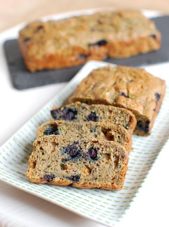 Blueberry Zucchini Bread  Wild Blueberry Zucchini Bread
