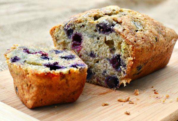 Blueberry Zucchini Bread  Blueberry Zucchini Bread Favors