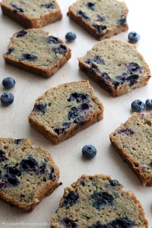 Blueberry Zucchini Bread  Blueberry Zucchini Bread Recipe Hoosier Homemade