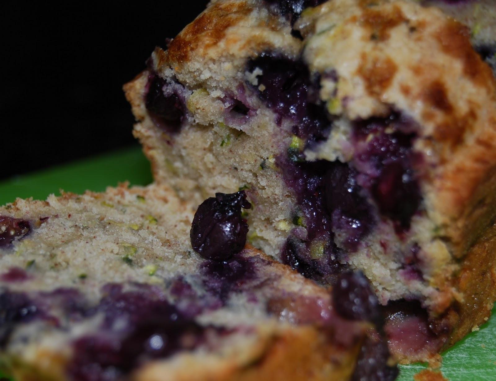Blueberry Zucchini Bread  Monster Mama Blueberry Zucchini Bread