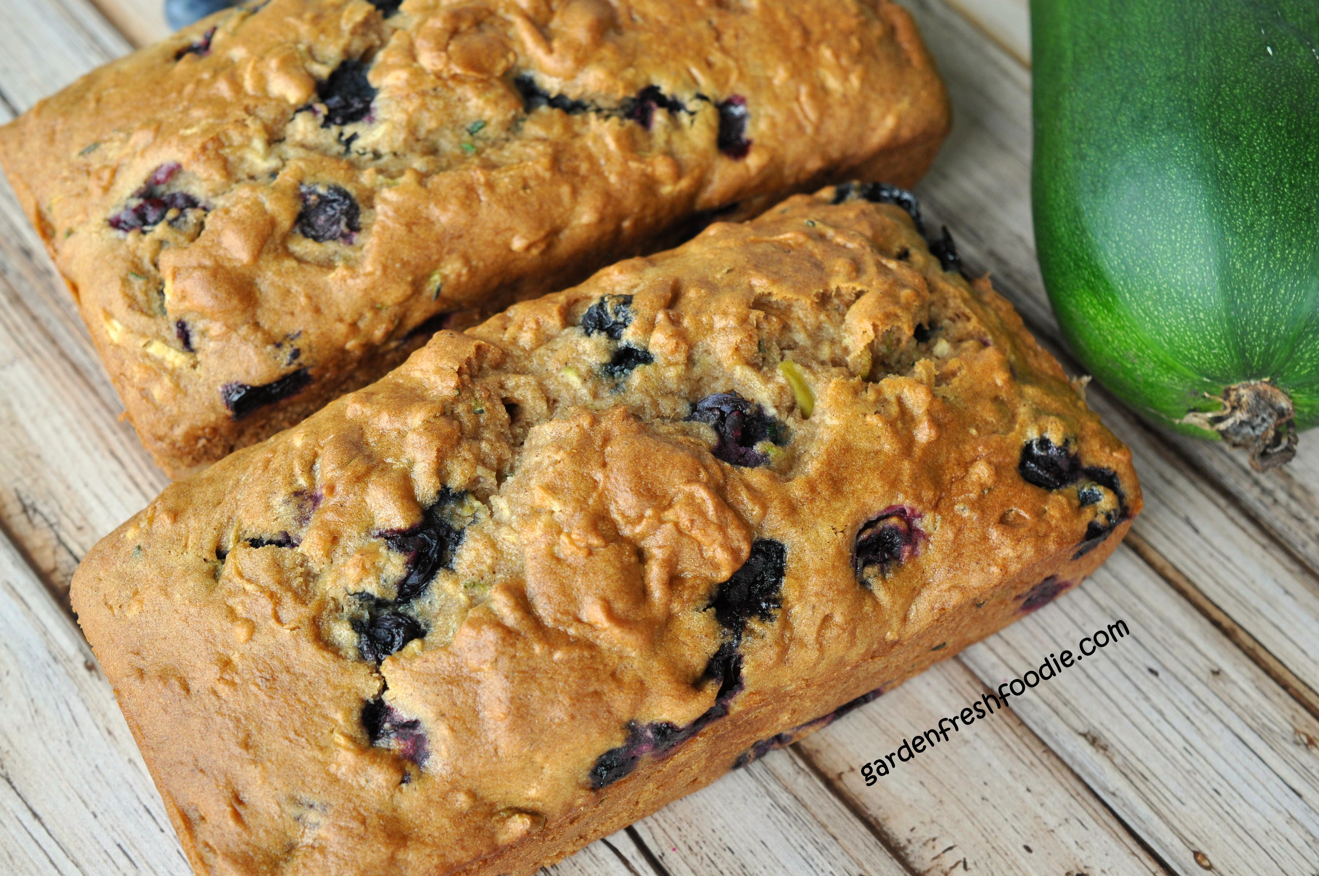 Blueberry Zucchini Bread  Blueberry Zucchini Bread