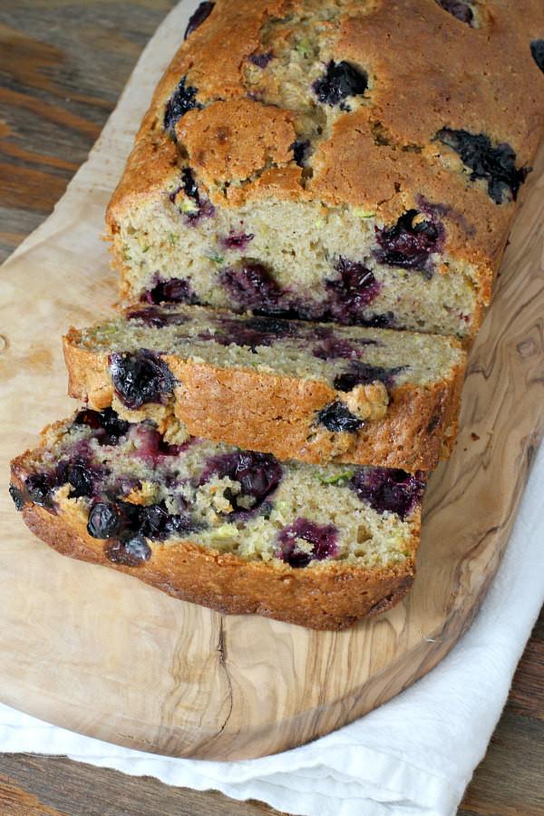 Blueberry Zucchini Bread  Blueberry Zucchini Bread Recipe — Dishmaps