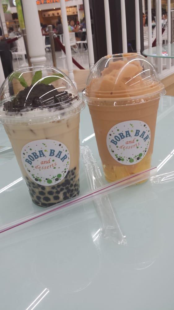 Boba Bar And Desserts  Ugh soo good Plant jasmine milk tea & tigersmoothie Yelp