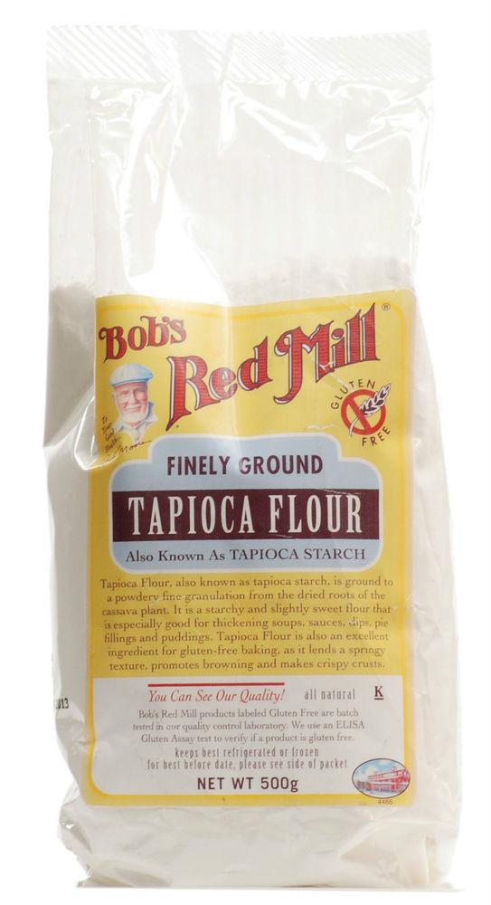 Bob'S Red Mill Potato Starch  Bob s Red Mill Tapioca Flour 500g Gluten Free Finely