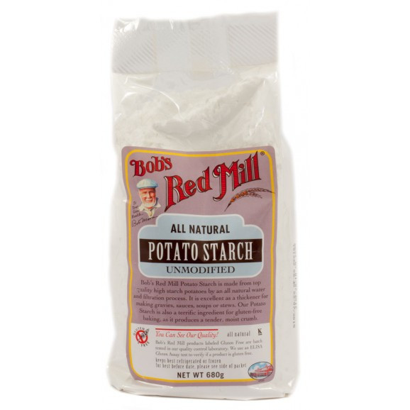 Bob'S Red Mill Potato Starch  Rice Flour Brown Organic Let s Be Natural