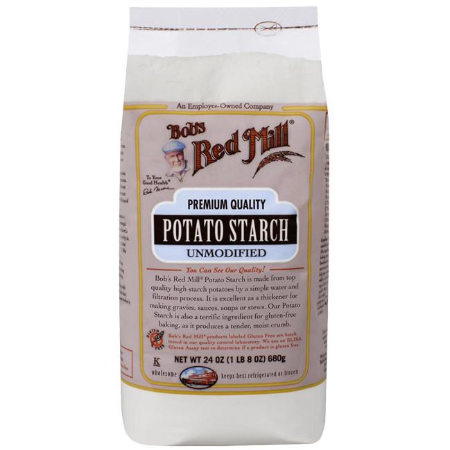 Bob'S Red Mill Potato Starch  Bob s Red Mill Potato Starch Unmodified 24 oz 680 grams