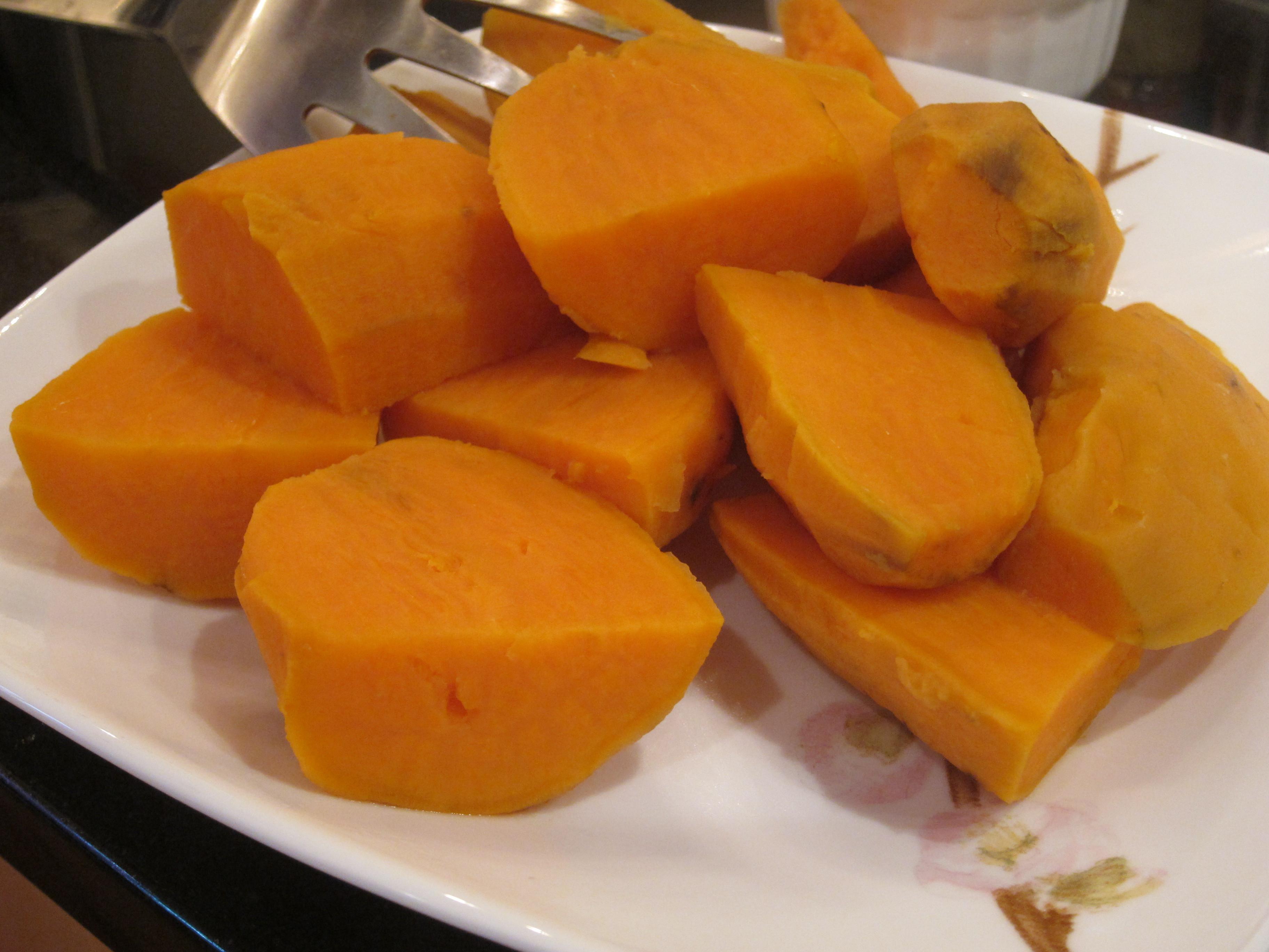 Boil Sweet Potato Recipes  Maggi's Boil n Fry Spicy Sweet Potato