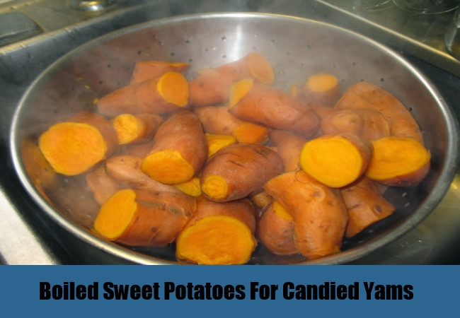 Boil Sweet Potato Recipes  Easy Delicious Can d Yams Recipe Best Homemade Can d