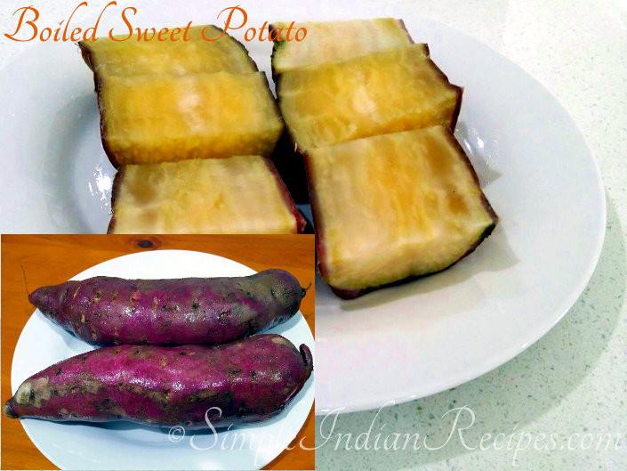 Boil Sweet Potato Recipes  Boiled White Skin Purple Flesh Sweet Potatoes