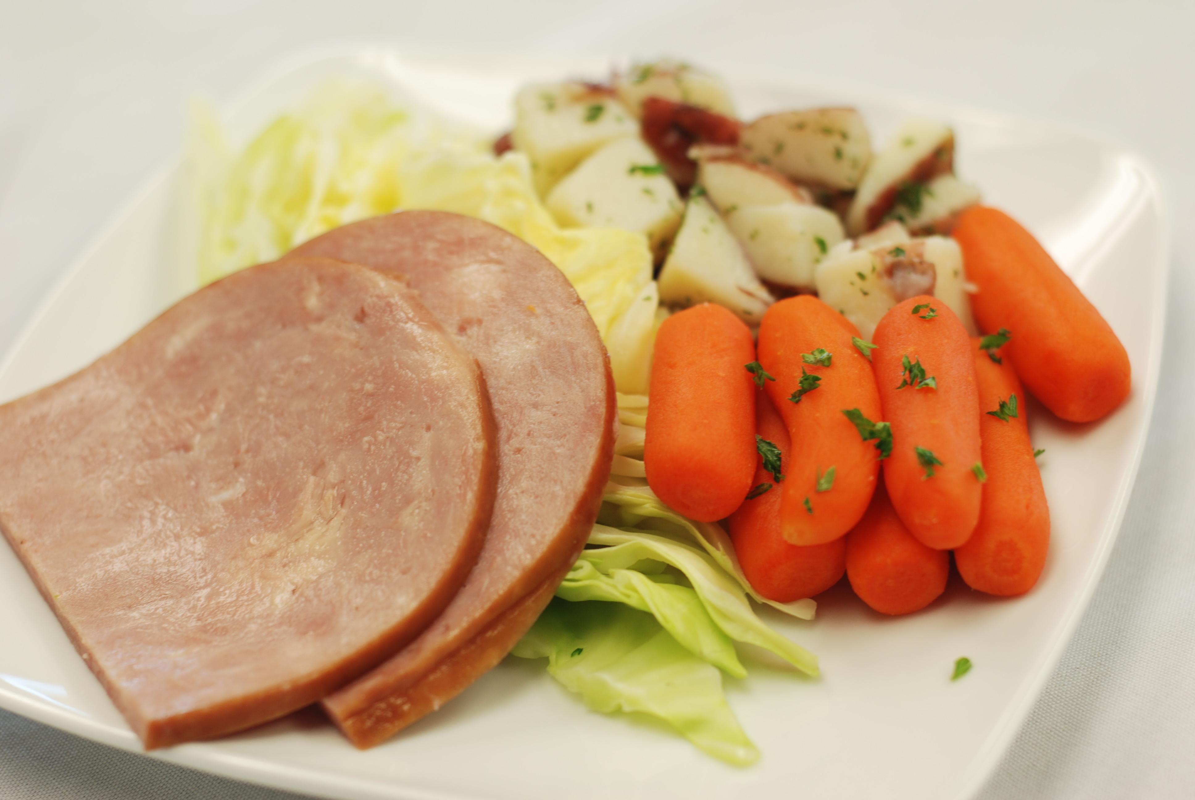 Boiled Dinner With Ham  boiled ham dinner recipe