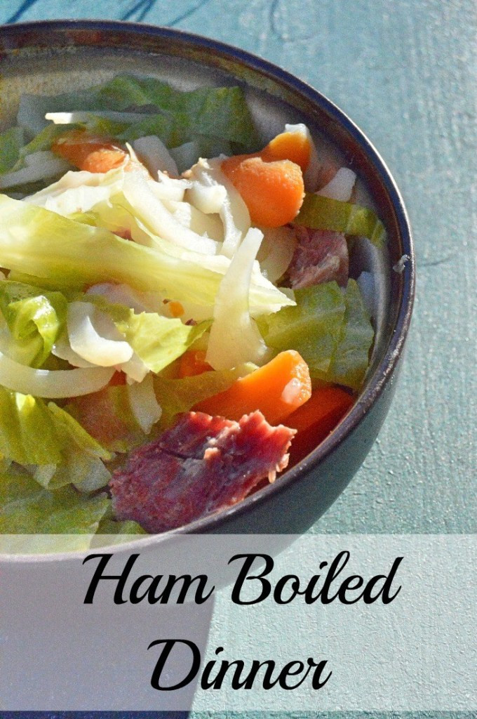 Boiled Dinner With Ham  Ham Boiled Dinner No Fuss e Pot Meal Great Way to Use