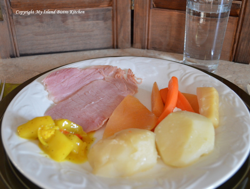 Boiled Dinner With Ham  Boiled Ham Dinner Old fashioned fort Food My