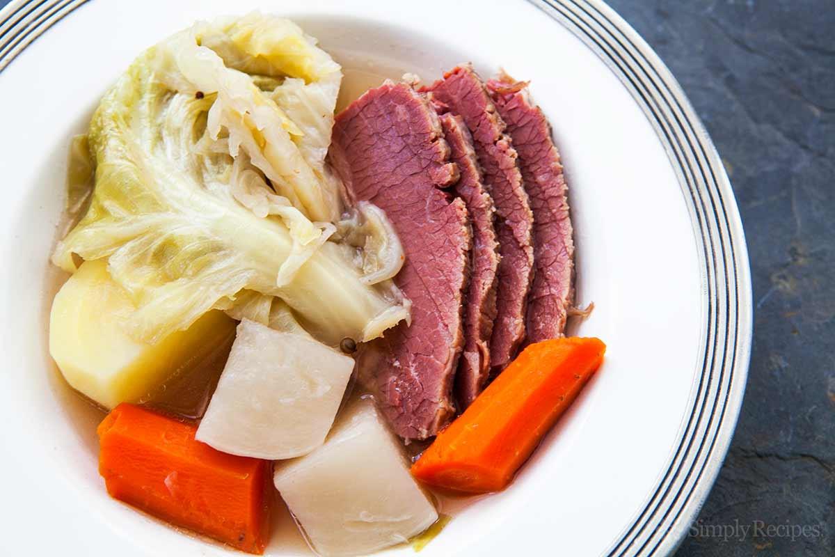 Boiled Dinner With Ham  New England Boiled Dinner Recipe