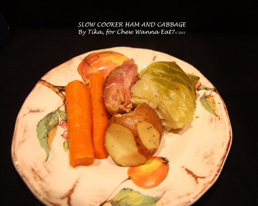 Boiled Dinner With Ham  HAM AND CABBAGE New England Boiled Dinner – Chew Wanna Eat