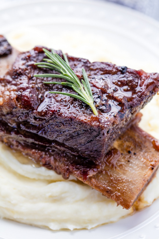 Bone In Beef Short Ribs Slow Cooker  Classic Braised Beef Short Ribs