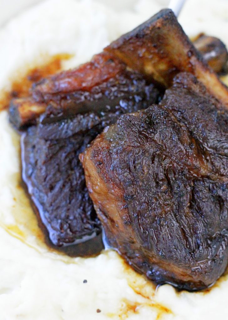 Bone In Beef Short Ribs Slow Cooker  Slow Cooker Short Ribs Foodtastic Mom