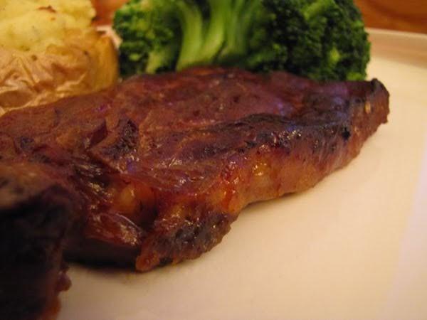 Bone In Pork Chops In Oven  Bon Appétit Oven baked barbecue pork chops