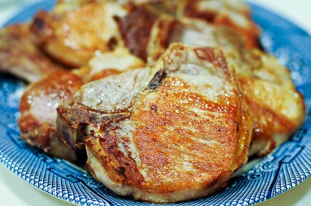 Bone In Pork Chops In Oven  Skillet Pork Chop Recipe Cooking Add a Pinch