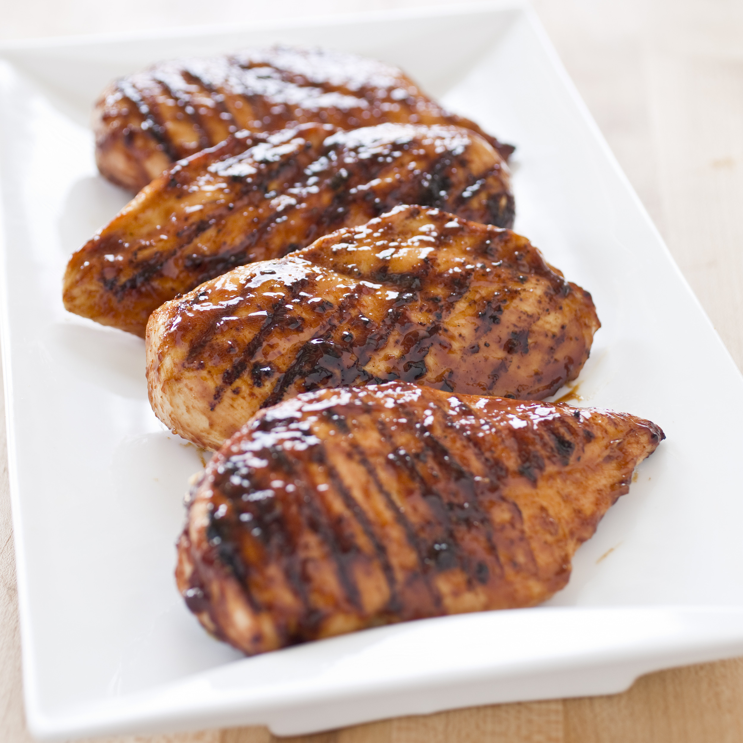 Boneless Chicken Breasts  Grilled Glazed Boneless Skinless Chicken Breasts