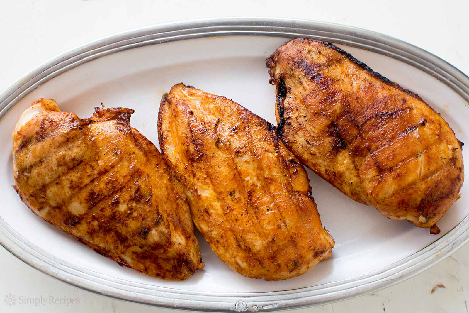 Boneless Chicken Breasts  How to Grill Juicy Boneless Skinless Chicken Breasts