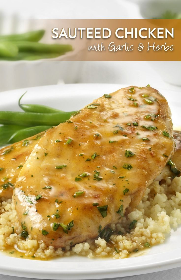 Boneless Chicken Breasts  This recipe for Sautéed Boneless Chicken Breasts is