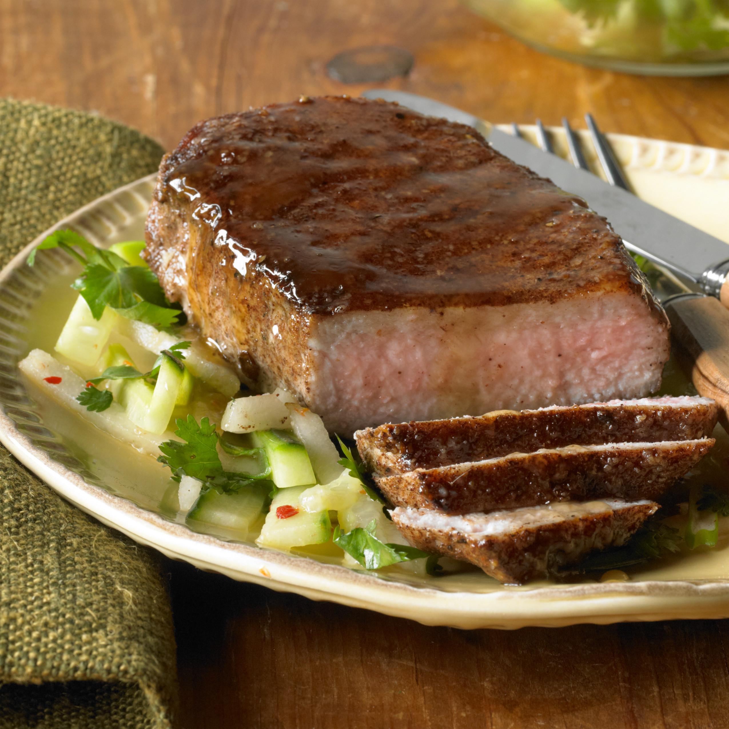 Boneless Pork Loin Chops  Cut of the Month Boneless Pork Loin Chops Lobel s