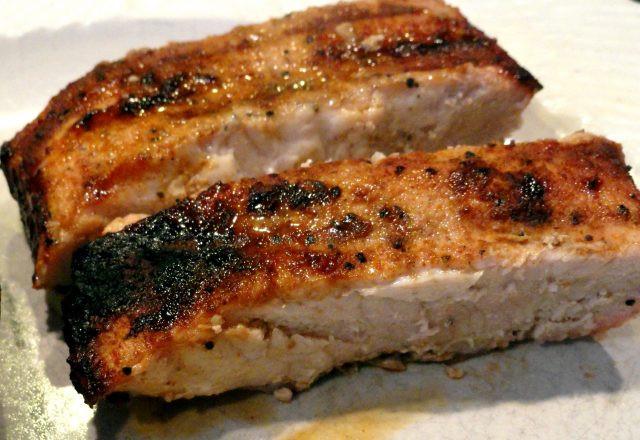 Boneless Pork Ribs Recipe  Grilled Cajun Country Style Boneless Pork Ribs